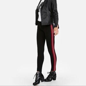 NWT Mid Rise Side Stripe Skinny Pant